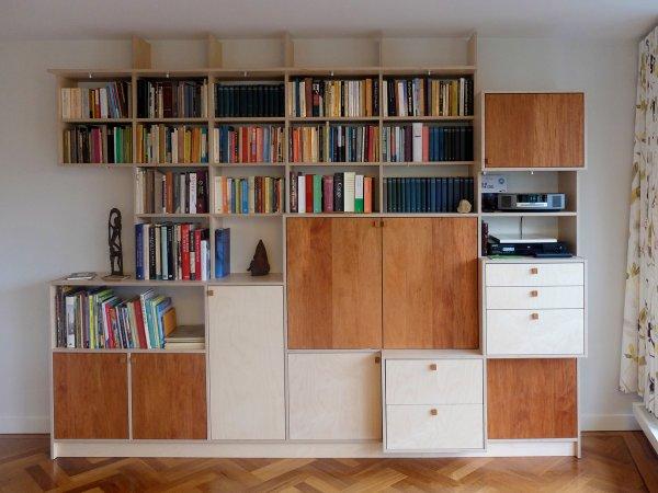 Boekenkast met meerdere functies